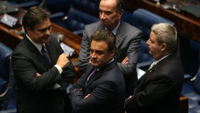 """Photo of Aécio Neves diz que crítica da defesa ao processo de impeachment é """"patética"""""""