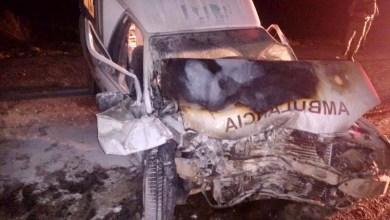 Photo of Chapada: Acidente envolvendo ambulância de Novo Horizonte deixa um morto e dois feridos