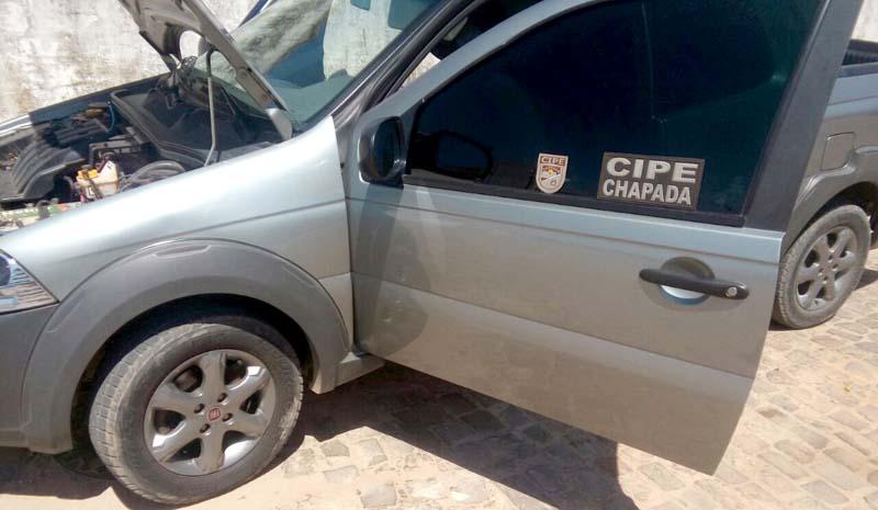 Chapada: Advogado é preso por receptação de veículo roubado em Ipupiara