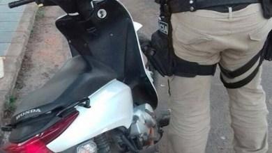 Photo of Bahia: PRF recupera motocicleta roubada no município de Ribeira do Pombal