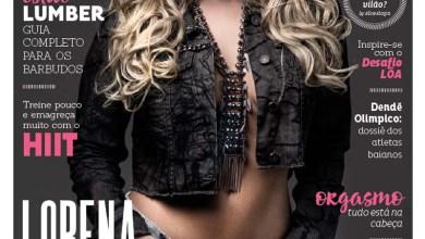Photo of Lorena Improta estrela capa da oitava edição da Revista Alpha