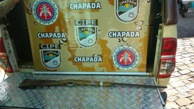 Photo of Chapada: Polícia apreende arma nas proximidades de suposto ponto de tráfico em Itaetê