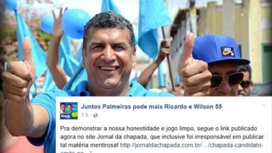 Photo of Jornal da Chapada responde ofensa de candidato a prefeito de Palmeiras