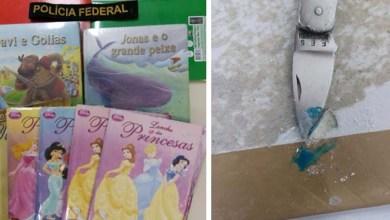 Photo of Salvador: PF prende passageira de voo internacional com cocaína escondida em capas de livros infantis