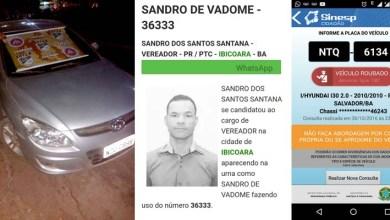 Photo of Ibicoara: Mais um candidato a vereador nas eleições de 2016 é preso na Chapada Diamantina