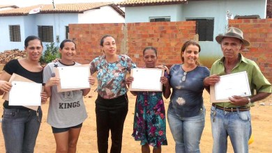 Photo of Chapada: Natã conclui projeto habitacional e entrega mais seis lotes a famílias em Wagner