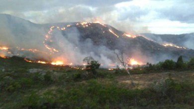 Photo of Fogo na Chapada: Grande incêndio florestal atinge APA do Barbado em Rio de Contas