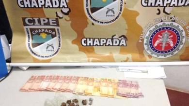 Photo of Chapada: PM apreende menor com drogas e dinheiro no município de Itaetê