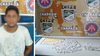 Photo of Chapada: Polícia prende traficante de drogas no município de Andaraí
