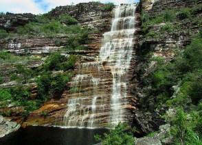 A cachoeira do Bom Jardim - também em Andaraí | FOTO: Cris Teles |