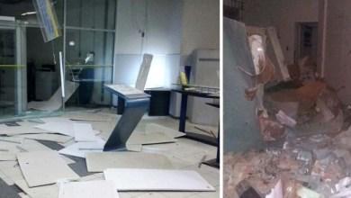 Photo of Chapada: Bandidos explodem agência do Banco do Brasil em Iraquara