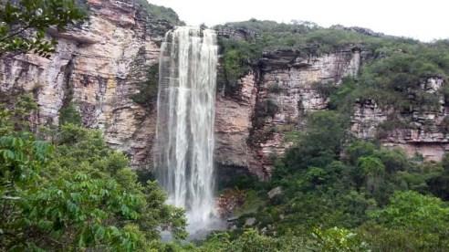 Cachoeira do Ramalho em Andaraí | FOTO: Facebook/Andaraí Oficial |