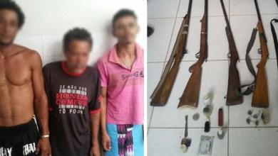 Photo of Chapada: Operação policial em Andaraí prende três homens com armas, drogas e explosivos