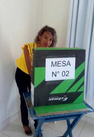 Associados durante votação no pleito que elegeu a nova diretoria   FOTO: Divulgação  
