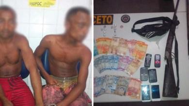 Photo of Chapada: Polícia apreende armas, drogas e dinheiro em Itaetê; dois são presos
