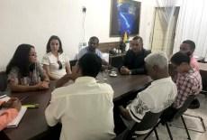 Reunião com agentes públicos e representantes de órgãos federais - FOTO Ascom