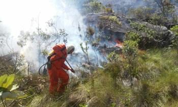 Fogo em Rio de Contas - FOTO Secretaria de Meio Ambiente - Divulgação 5