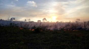 Fogo na região de Morro do Chapéu - FOTO Jaime 3