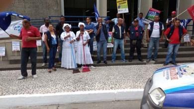 Photo of Sindilimp e Sindivigilantes se unem em campanha salarial; protestos seguem até sexta