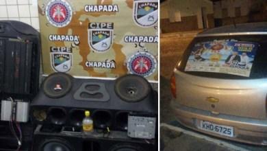 Photo of Chapada: Dupla é presa em Ruy Barbosa por porte de cocaína e som alto em carro irregular