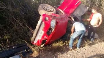acidente na região de Boninal - FOTO Cipe-Chapada 2