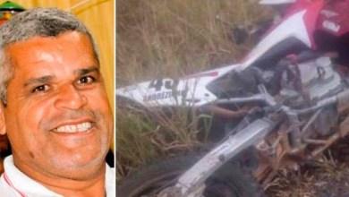 Photo of #Bahia: Vice-prefeito de João Dourado morre após acidente de motocicleta