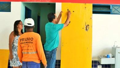 Photo of Chapada: Secretários acompanham reformas em prédios escolares do município de Itaetê