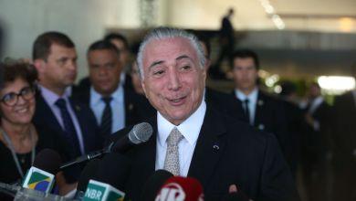 """Photo of Temer diz a diplomatas que Brasil tem """"renovado vigor"""" e não é """"um paiseco"""""""