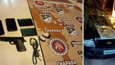 Photo of Chapada: Três homens são detidos por ameaçar pessoas com pistola falsa em Ruy Barbosa