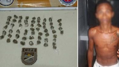 Photo of Ruy Barbosa: Policiais da Cipe-Chapada prendem suposto traficante de maconha em flagrante