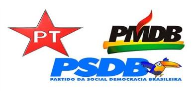 Photo of PT, PMDB e PSDB têm maior número de nomes na lista de investigados