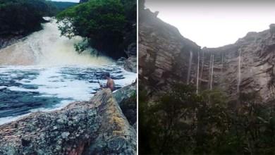 Photo of Chapada: Cachoeirão e Ribeirão do Meio também encantam com volume de água após chuvas