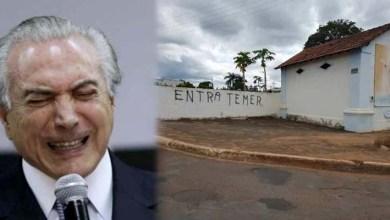 Photo of Funcionário de cemitério escreve 'entra Temer' em protesto inusitado; greve foi a maior da história