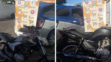Photo of Chapada: Policiais da Cipe recuperam duas motos roubadas no município de Iaçu