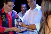O prêmio de melhor trabalho de Cultura Popular ficou com Laécio Beethoven | FOTO: Divulgação/Ascom |