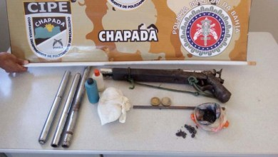Photo of Chapada: Polícia prende fabricante de armas de fogo artesanais em Ipupiara