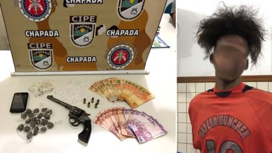 Photo of Chapada: Traficante é preso pela Cipe em Ruy Barbosa com arma, drogas e dinheiro