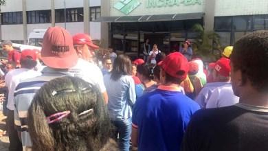 Photo of Trabalhadores rurais do MST ocupam Incra em Salvador e querem apoio para reforma agrária