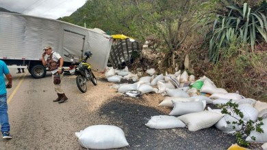 Photo of Chapada: Homem morre em acidente em trecho de Jacobina da BR-324