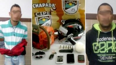 Photo of Iraquara: Cipe-Chapada prende dupla com pistola e pasta base de cocaína na zona rural