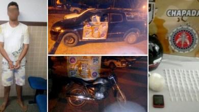 Photo of Chapada: Cipe prende suposto traficante com cocaína e recupera carro roubado em Iraquara