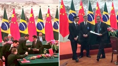 """Photo of """"Mais um passo, mais uma vitória"""", diz Rui Costa após assinar acordo na China"""