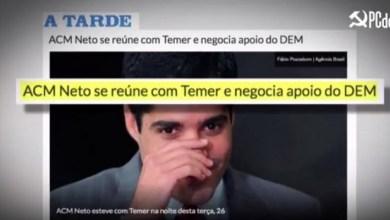 Photo of #Polêmica: Justiça suspende trecho de propaganda do PCdoB que associa ACM Neto ao presidente Temer