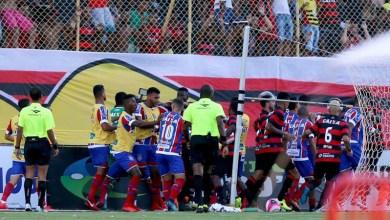 Photo of Briga generalizada no clássico baiano causa punições para o Vitória; técnico rubro-negro é absolvido