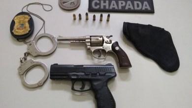 Photo of Chapada: Policiais da Cipe capturam falso guarda municipal armado no município de Ruy Barbosa