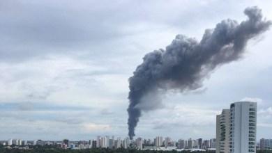Photo of #Brasil: Incêndio destrói centro de distribuição dos Correios em Fortaleza; veja vídeos