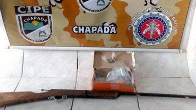 Photo of #Bahia: Cipe-Chapada apreende drogas e arma de fogo durante ação em Itatim