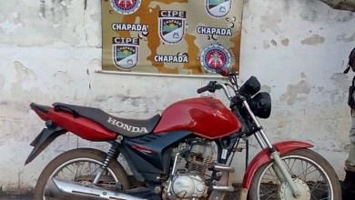 Photo of Chapada: Cipe recupera moto roubada no município de Piatã; proprietário não foi localizado