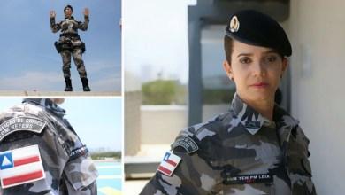 Photo of #DiaDaMulher: Subtenente da Polícia Militar da Bahia é especialista em negociação com reféns