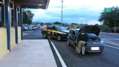 Photo of Chapada: Carro roubado há cinco meses em Feira de Santana é recuperado pela PRF em Itaberaba